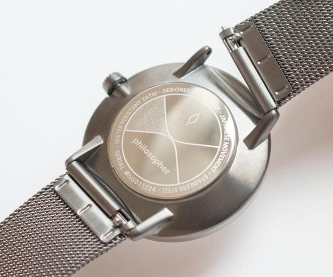 ノードグリーンの腕時計のベルト変更